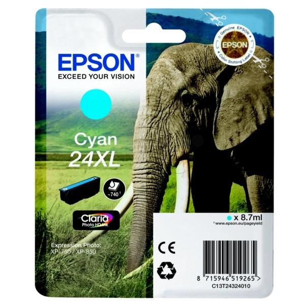 Epson 24XL cyan 8,7 ml