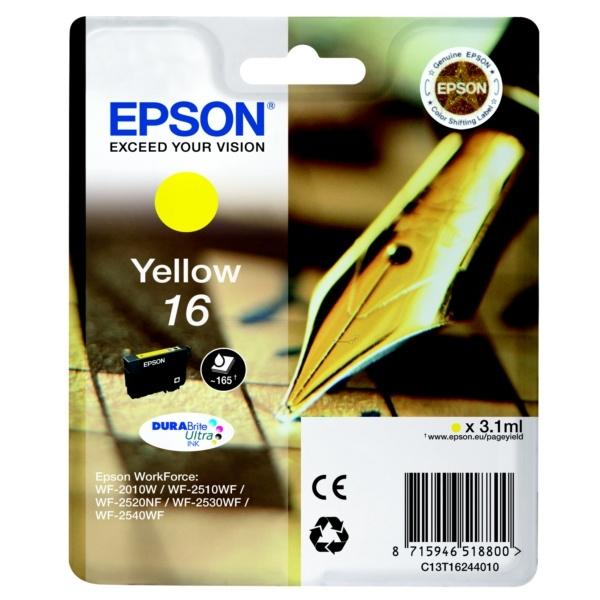 Epson 16 yellow 3,1 ml