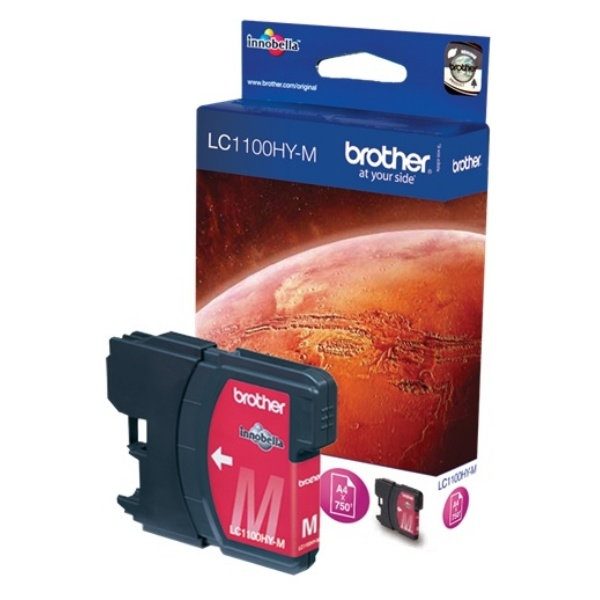 Brother LC1100HYM magenta 10,1 ml