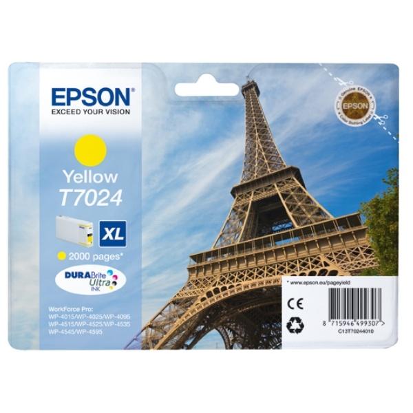 Epson T7024 yellow 21,3 ml