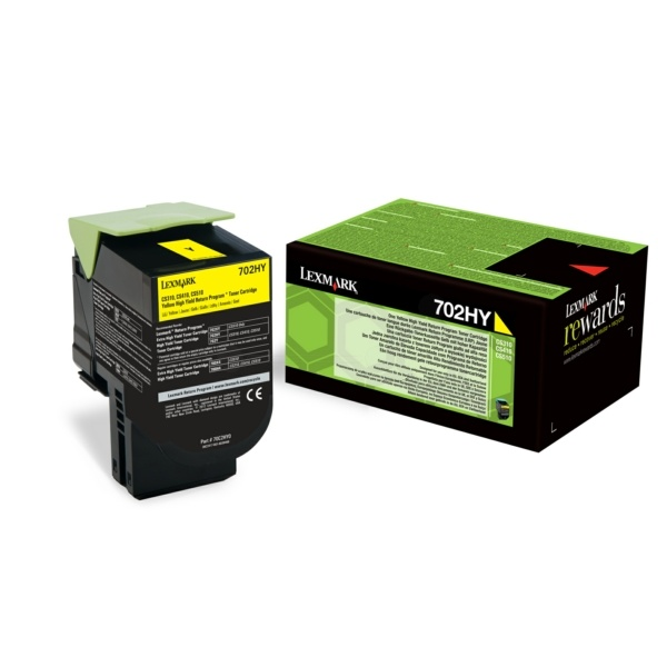 Lexmark 702HY yellow