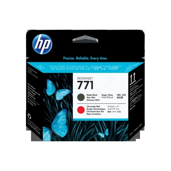 HP 771 blackmatte red 775 ml