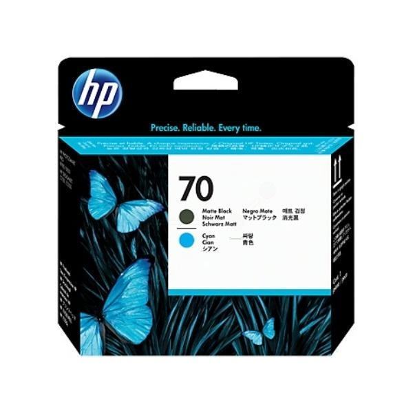 HP 70 blackmatte cyan 130 ml