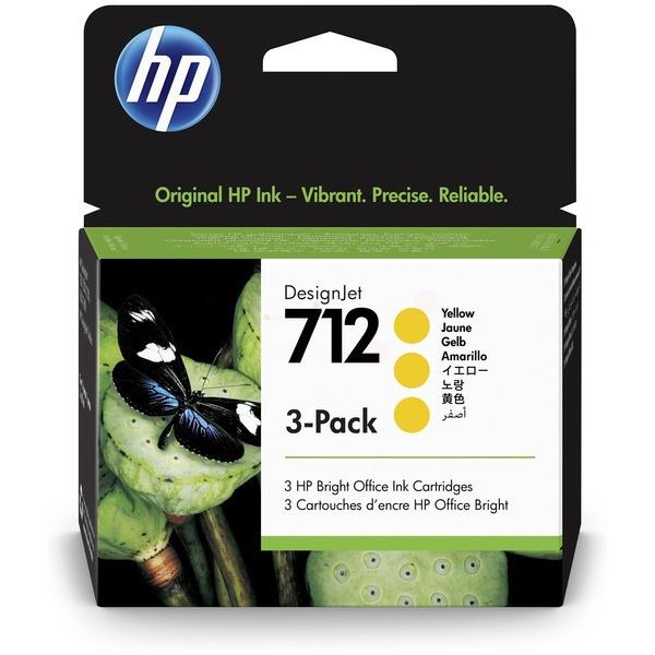 HP 712 yellow 29 ml