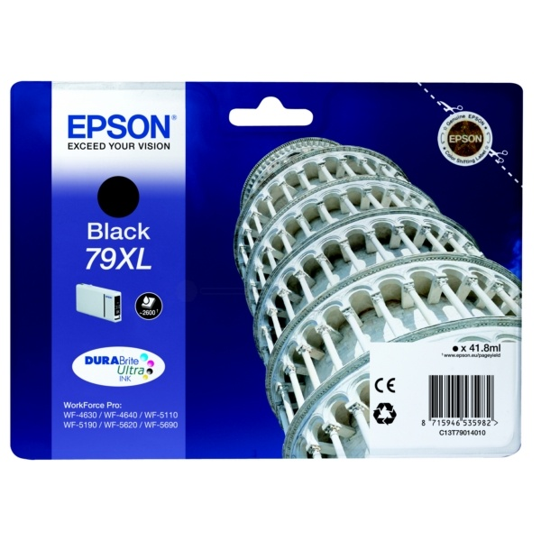 Original Epson T790140 XL Black