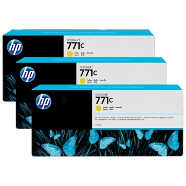 HP 771C yellow 775 ml
