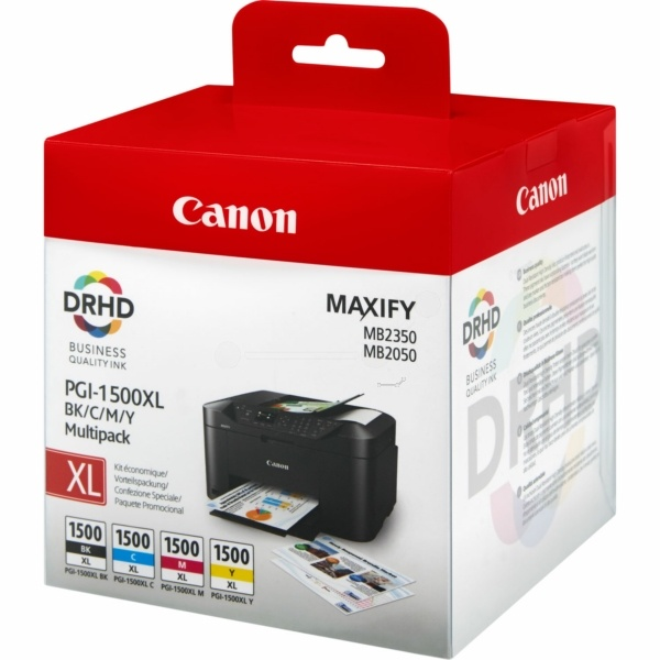 Original Canon PGI-1500 XL Multipack (4 Patronen)