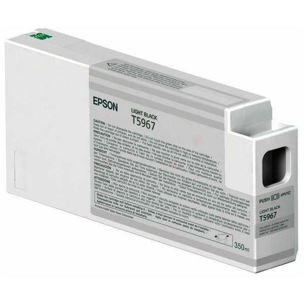 Epson T5967 black 350 ml