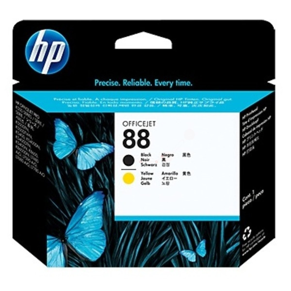 HP 88 black yellow