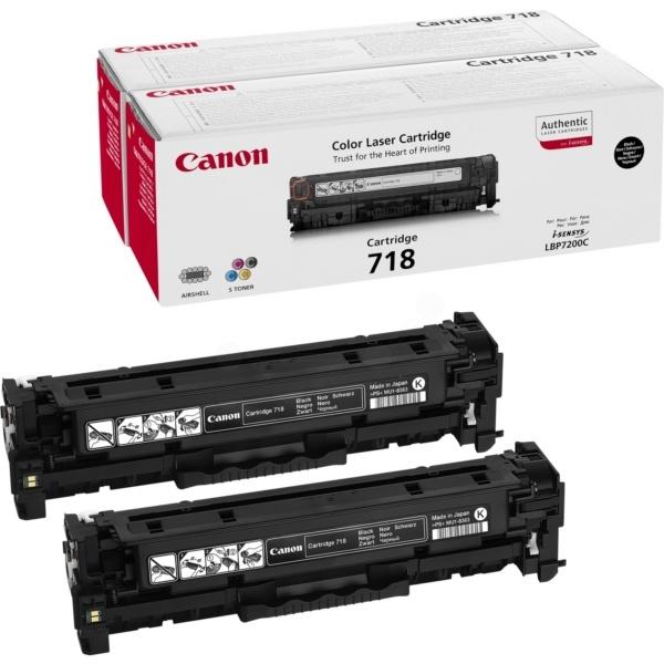 Canon 718BKVP black