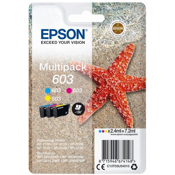Epson 603 cyan magenta yellow 2,4 ml