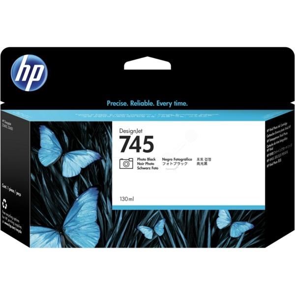 HP 745 black 130 ml