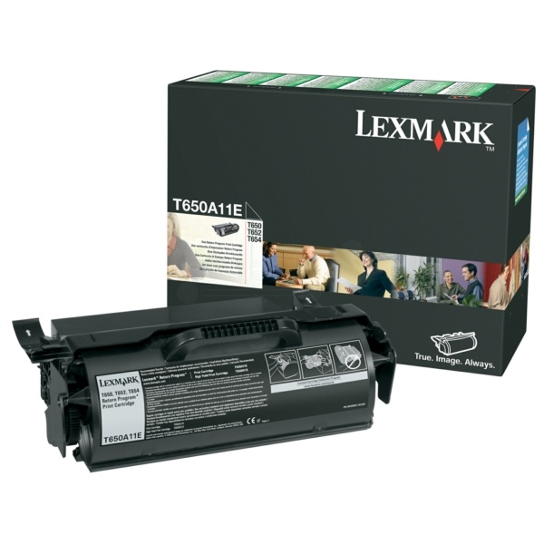 Lexmark T650A11E black