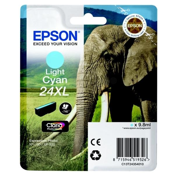 Epson 24XL photocyan 9,8 ml