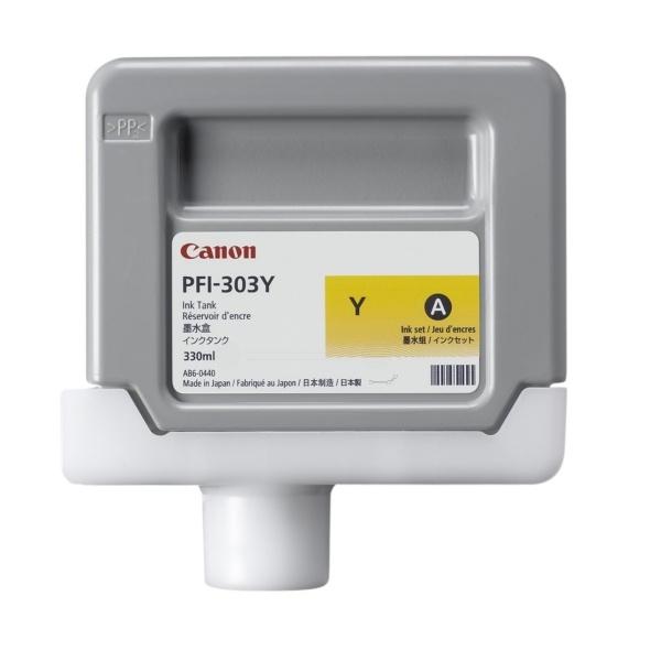 Canon PFI-303 Y yellow 330 ml