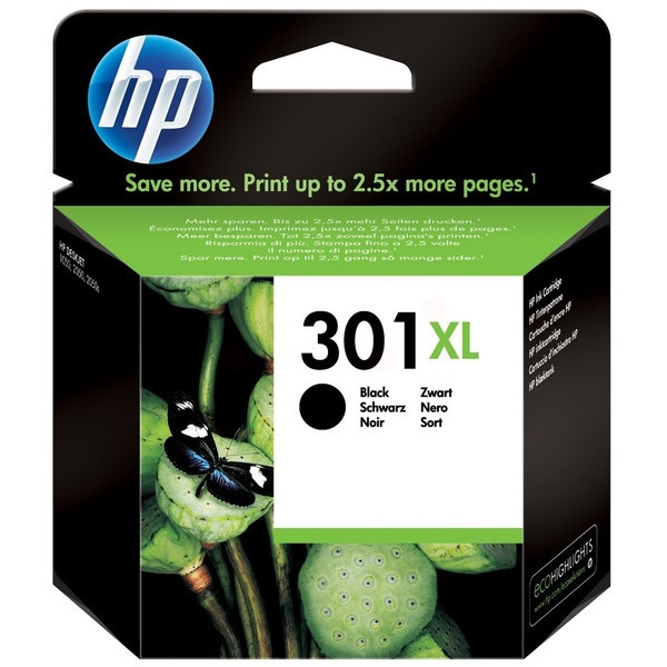Original HP 301 XL Black