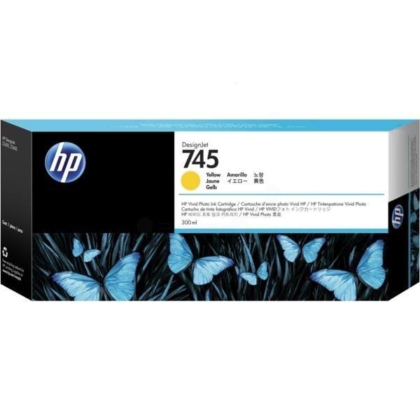HP 745 yellow 300 ml