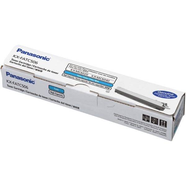 Panasonic KXFATC506 cyan