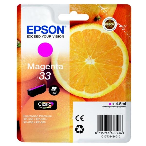 Epson 33 magenta 4,5 ml