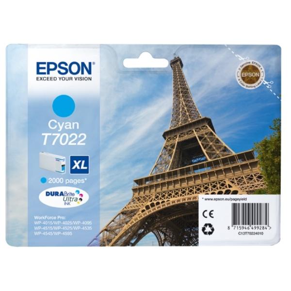 Epson T7022 cyan 21,3 ml