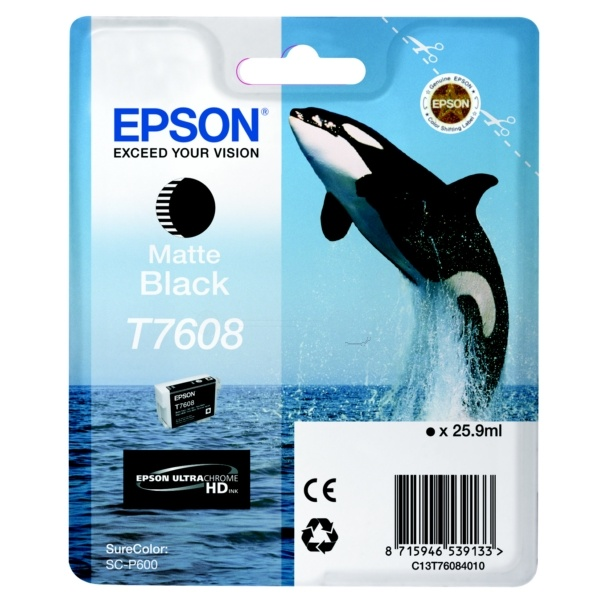 Epson T7608 blackmatte 25,9 ml