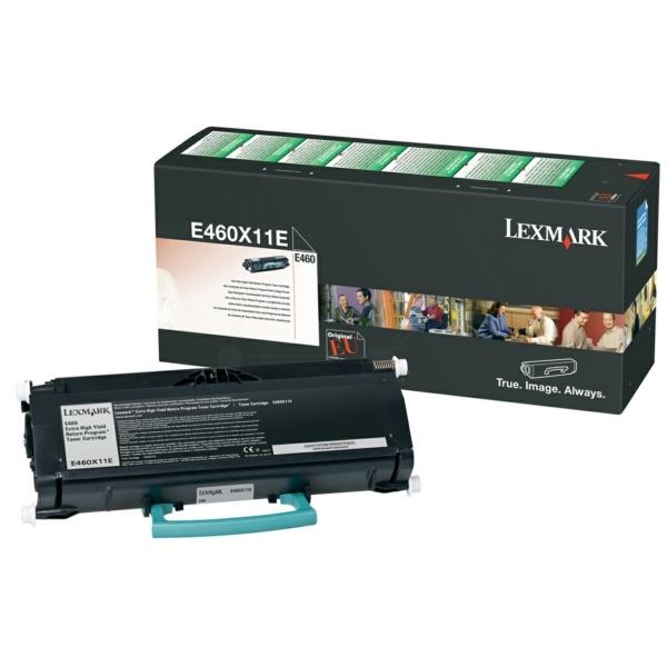Lexmark E460X11E black