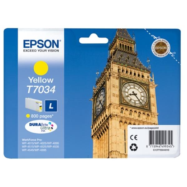 Epson T7034 yellow 10 ml