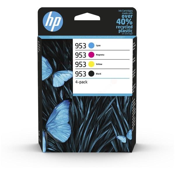 HP 953 black cyan magenta yellow