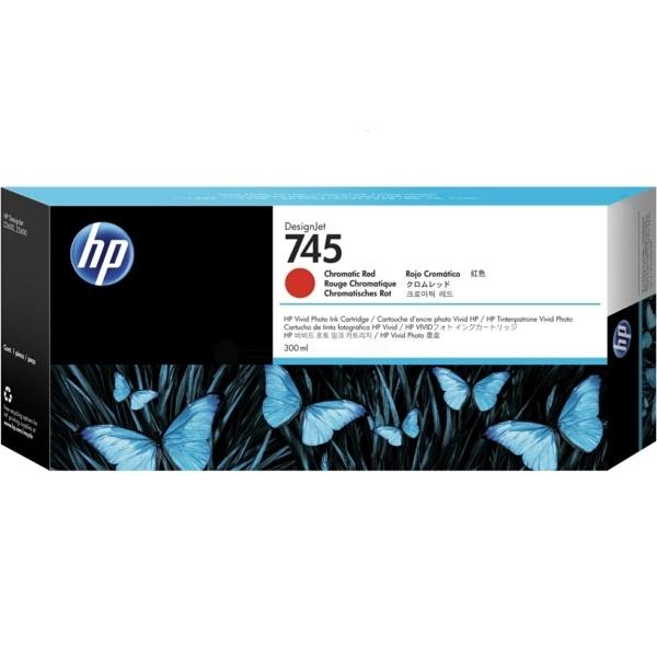 HP 745 red 300 ml