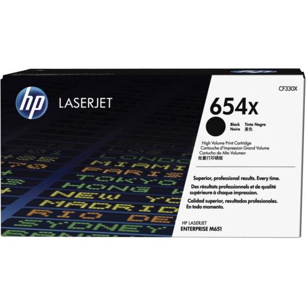 HP 654X black