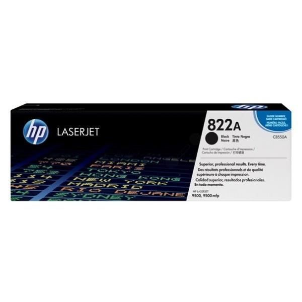 HP 822A black