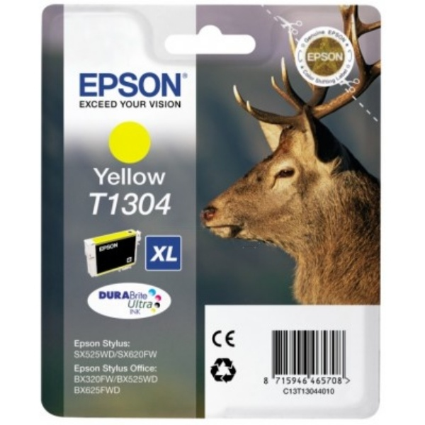 Epson T1304 yellow 10,1 ml