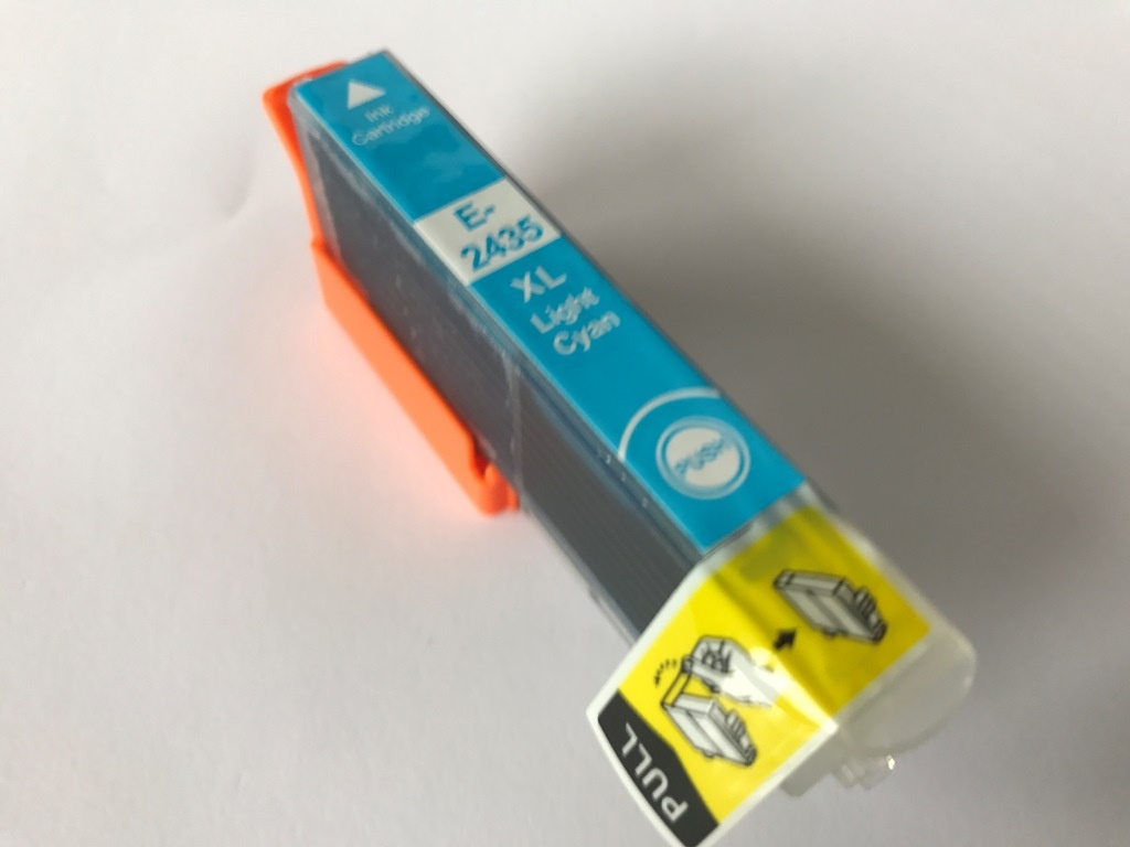 THINK Epson T2435 XL Cyan Light