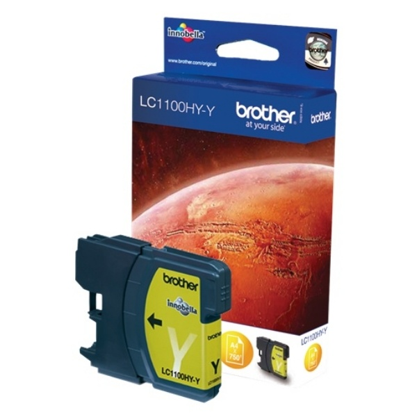 Brother LC1100HYY yellow 10,1 ml