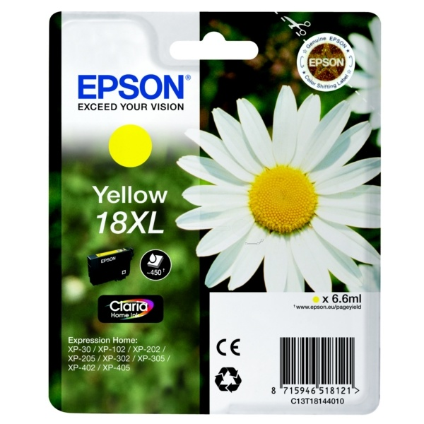 Epson 18XL yellow 6,6 ml