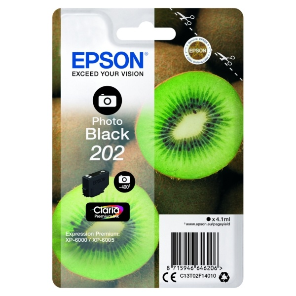 Epson 202 photoblack 4,1 ml