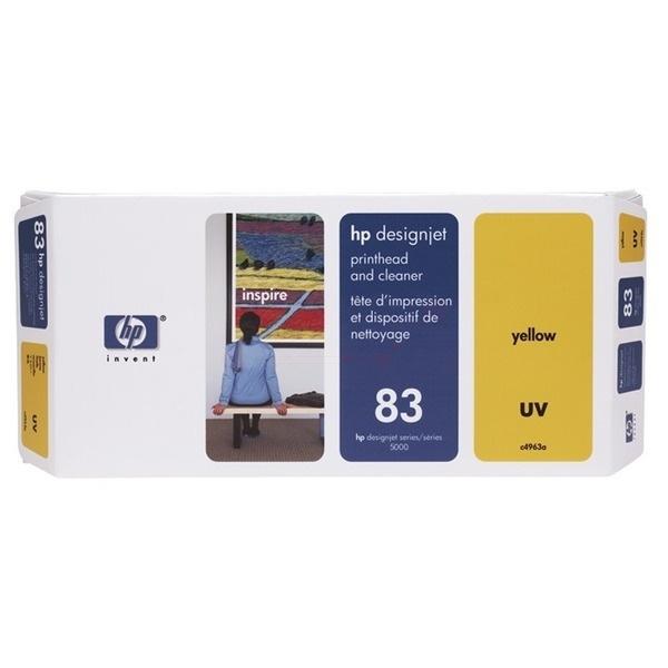 HP 83 yellow 13 ml