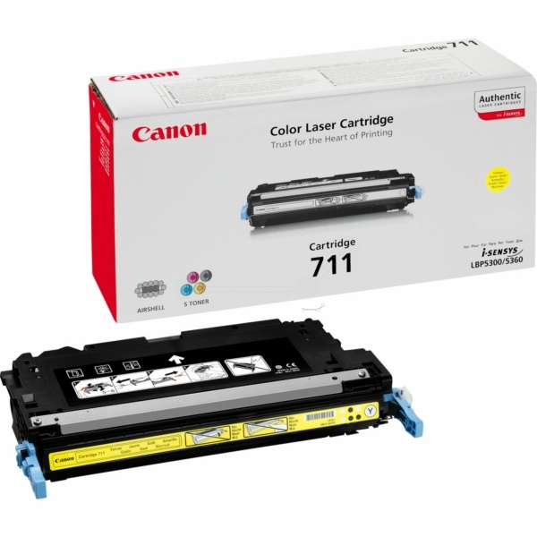 Canon 711Y yellow