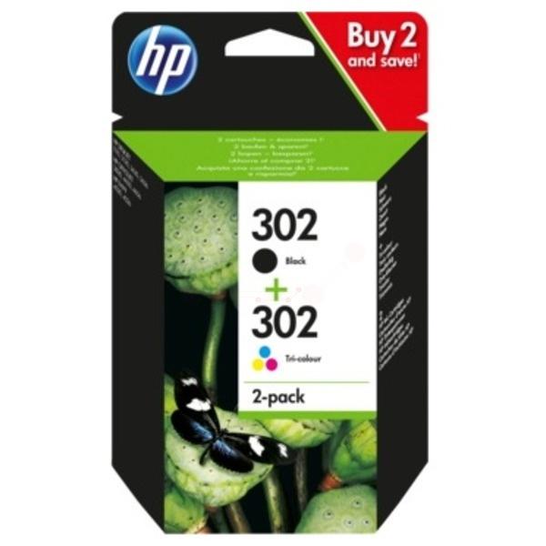 HP 302 black color