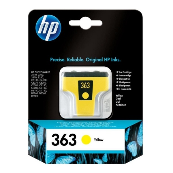 HP 363 yellow 6 ml