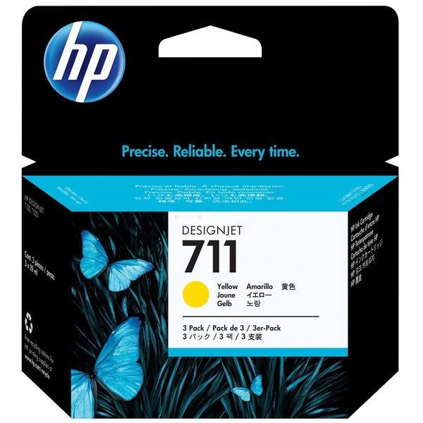 HP 711 yellow 29 ml