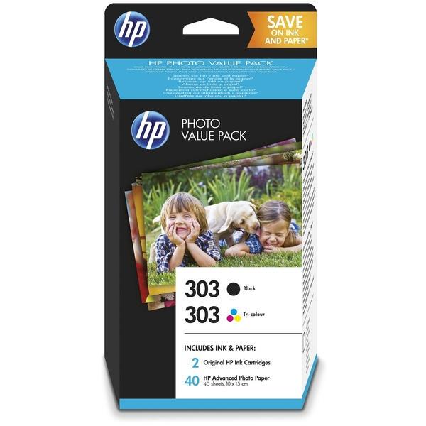 HP 303 black color
