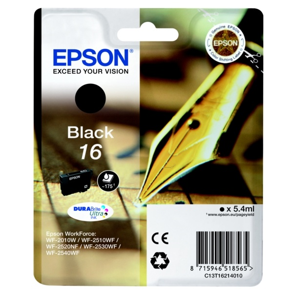 Epson 16 black 5,4 ml
