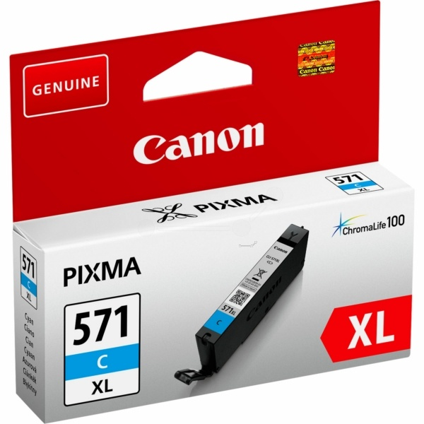 Canon 571 CXL cyan 11 ml