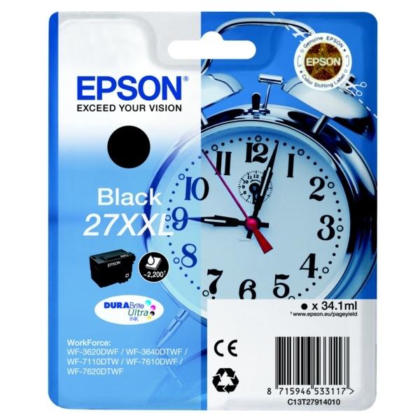 Epson 27XXL black 34,1 ml