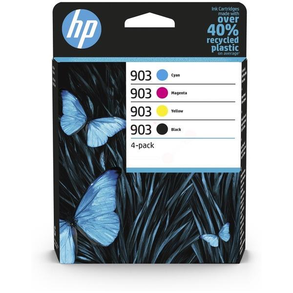 HP 903 black cyan magenta yellow