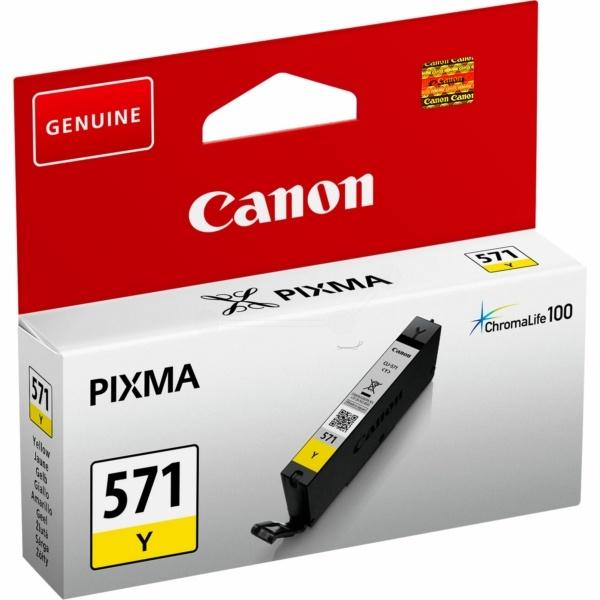 Canon 571 Y yellow 7 ml