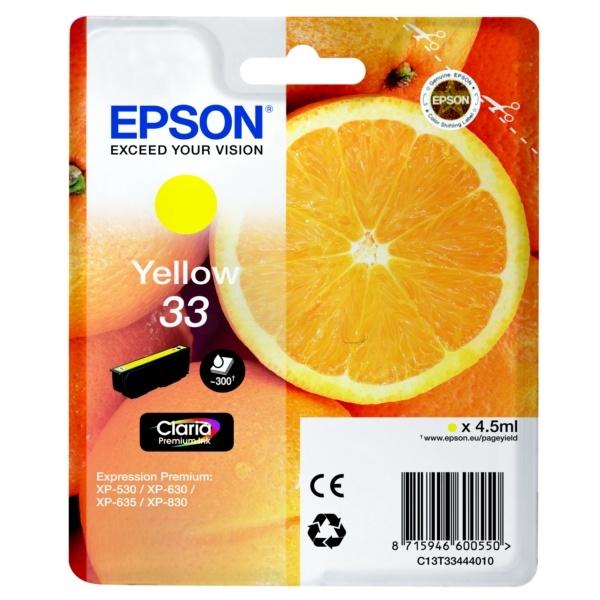 Epson 33 yellow 4,5 ml