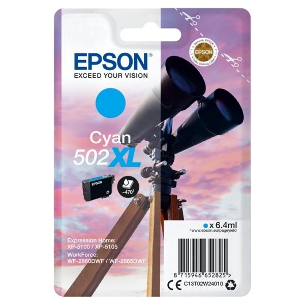 Epson 502XL cyan 6,4 ml