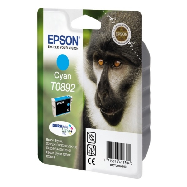 Epson T0892 cyan 3,5 ml